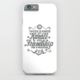 Always Sunny Dayman iPhone Case