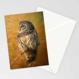 Ollie In Autumn Stationery Cards