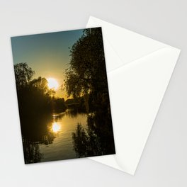 Great River Ouse from a boat (2) Stationery Cards