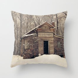 Mission Chapel Throw Pillow