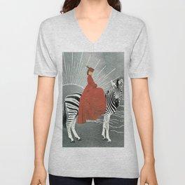 My zebra and I Unisex V-Neck