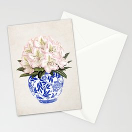 Chinoiserie Vase #01 Stationery Cards