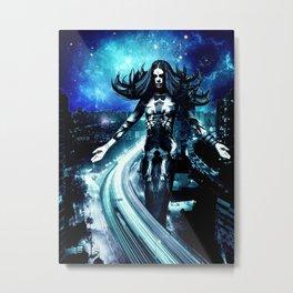 Asmodeus - Dark of Night Metal Print