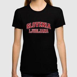 Ljubljana Slovenia City Souvenir T-shirt