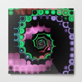 TGS Fractal Abstract Metal Print