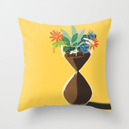 Honor Time Throw Pillow