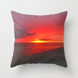 Beach #6 Throw Pillow