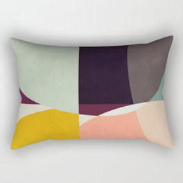 shapes abstract Rectangular Pillow