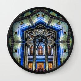 Kaleidoscape: Guadalajara Wall Clock