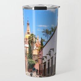 San Miguel de Allende : Calle Aldama Afternoon Travel Mug