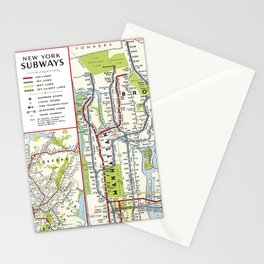 Metro NY Stationery Cards