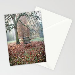 Autumn Sings in Silence Stationery Cards