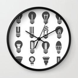 Set lamps Wall Clock