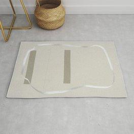 Transparent trace Rug