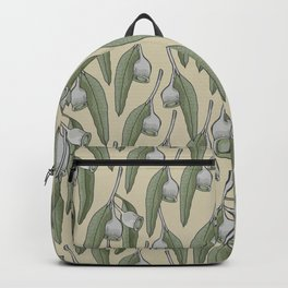 Green Silver Gum Pattern Backpack
