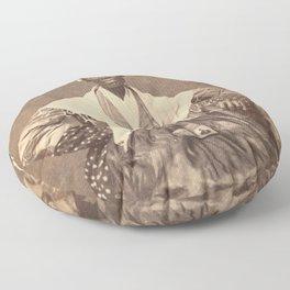 Sojourner Truth Vintage Photo, 1863 Floor Pillow