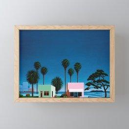 Hiroshi Nagai Art Print Poster Vaporwave Aesthetic Framed Mini Art Print