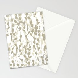 Pussywillow Pattern — Warm Stationery Cards