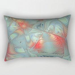 String Theory Fractal Art Rectangular Pillow