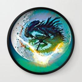 Monster Inside Egg Wall Clock