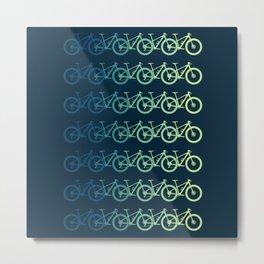 MTB Mountain Bike Cycling Downhill Metal Print