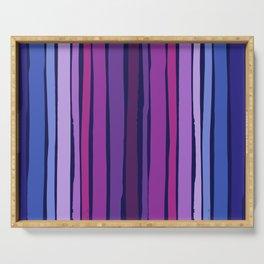 Euphoria Dancing Stripes Pattern Serving Tray