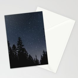 Star Night in the Woods | Nature and Landscape Photography Stationery Cards