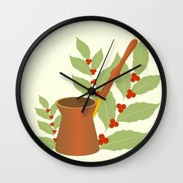 Cezve Wall Clock