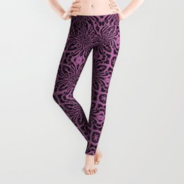 Bodacious Geometric Floral Abstract Leggings