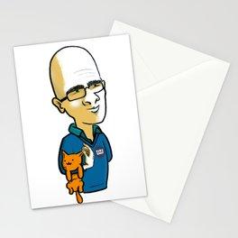 Ohad & Miau Stationery Cards
