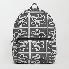 Elegant Lily Garden Backpack