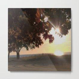 Nine Oclock Sunrise Kenosha Metal Print