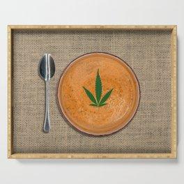 Soup Du Jour Serving Tray