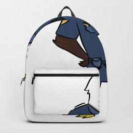 Police security Adler Comic Kids Gift Backpack