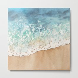 The ocean is calling Metal Print