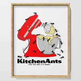Kitchen Ants Serving Tray