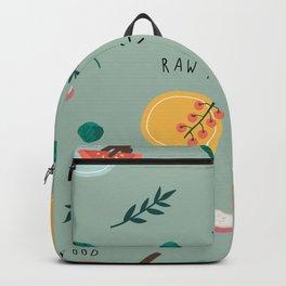 Raw food Backpack