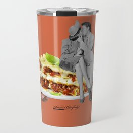 there are precious moments between layers Travel Mug