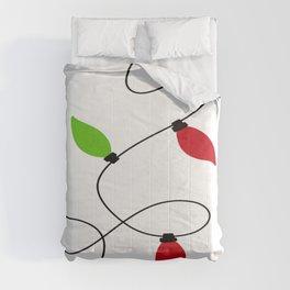 The Magic Of Christmas Lights Comforters