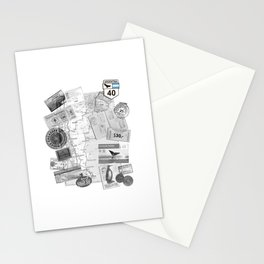 Patagonia - Map Stationery Cards
