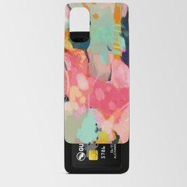 spring moon earth garden Android Card Case