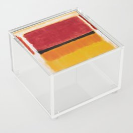 1949 Untitled (Violet, Black, Orange, Yellow on White and Red) by Mark Rothko Acrylic Box
