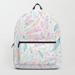 Summertime Gumnuts Pattern Backpack