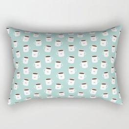 Kawaii Coffee Rectangular Pillow