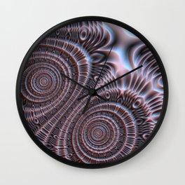 Bronze Infinity #3 Wall Clock