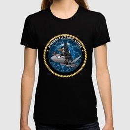 Airborne Electronic Attack EA-18 Growler Cartoon T-shirt