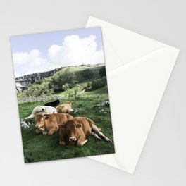 The cows Stationery Cards