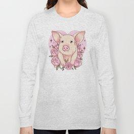 Piggy Love Long Sleeve T-shirt