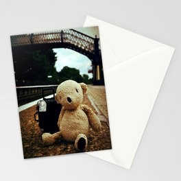 Waiting at the station Stationery Cards
