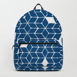 Poinsettia Stars – Classic Blue Palette Backpack